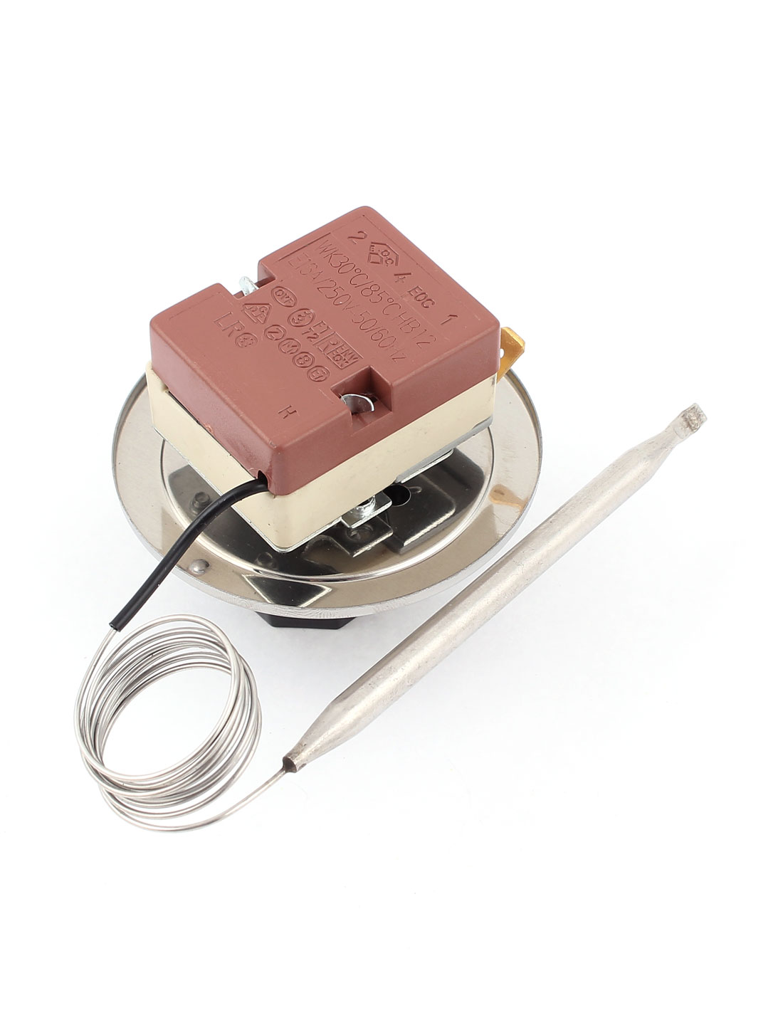 Nc adjustable temperature control switch thermostat to