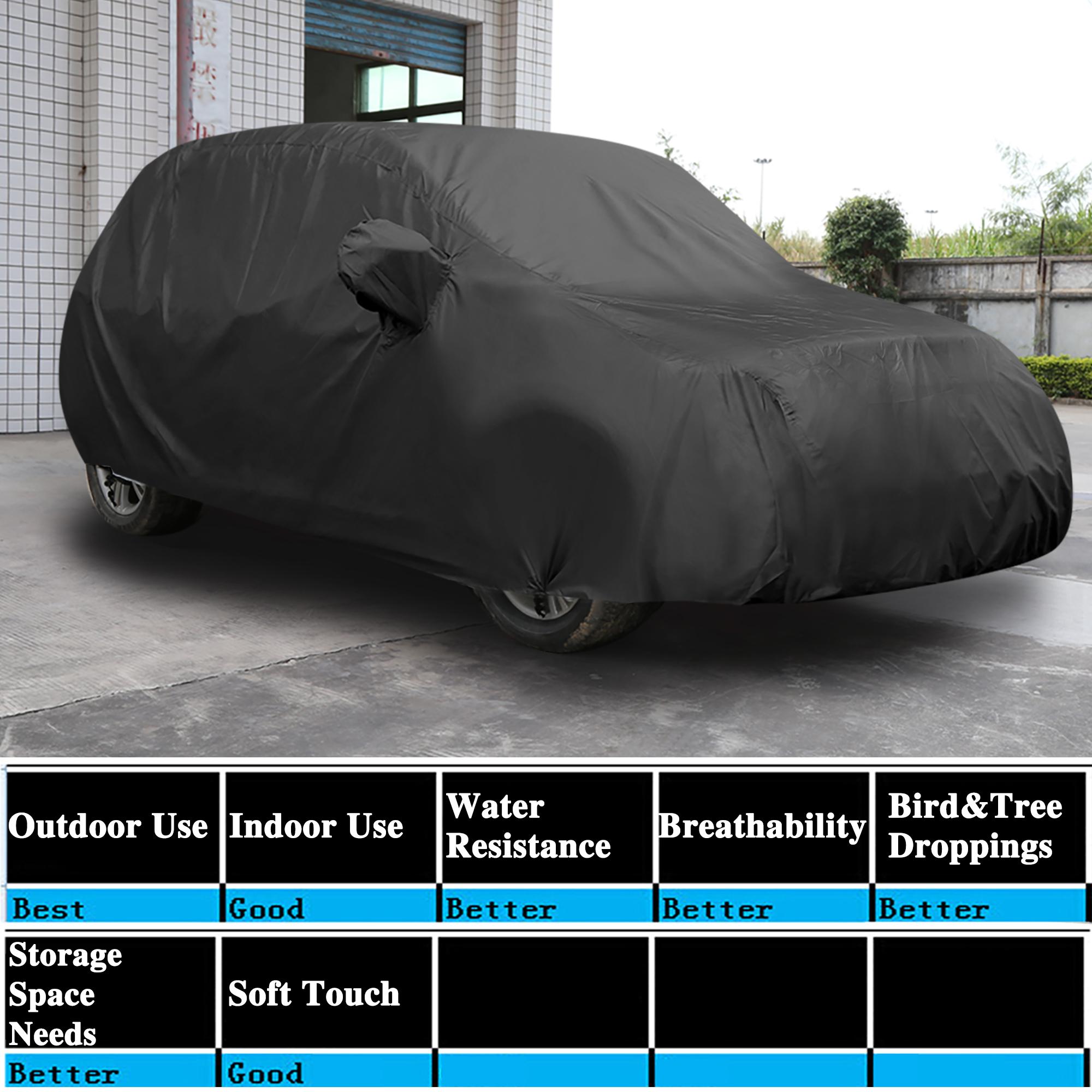 stormproof waterproof breathable black suv car cover. Black Bedroom Furniture Sets. Home Design Ideas