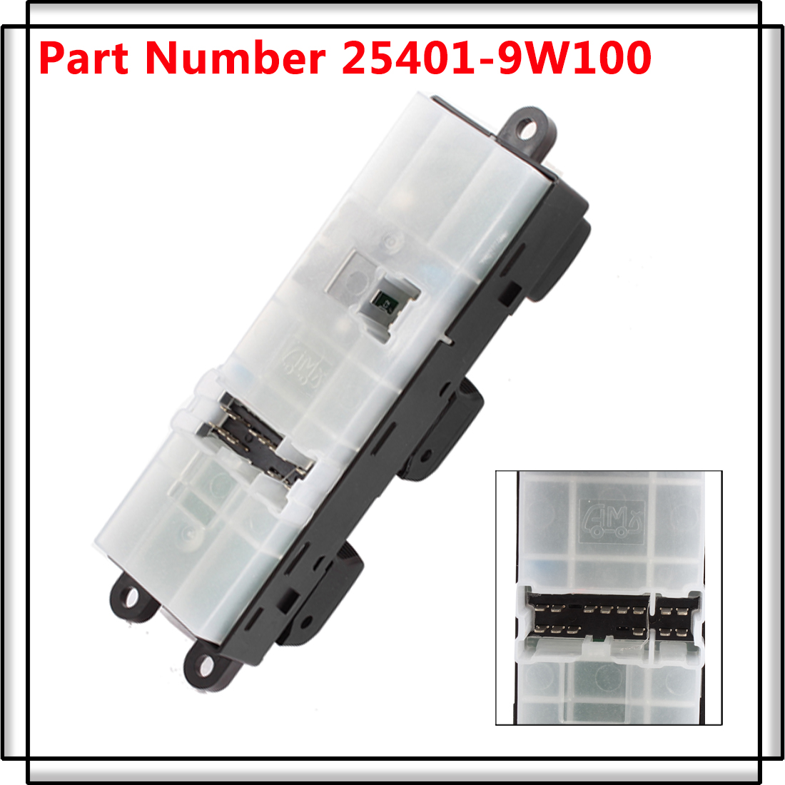 Electric power window master control switch for 04 08 for 2001 nissan sentra power window switch