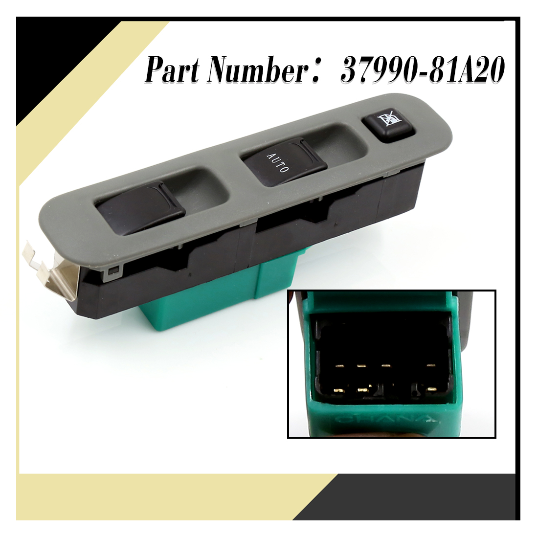 Car auto power electric window switch for 02 03 suzuki for Power window motors for cars