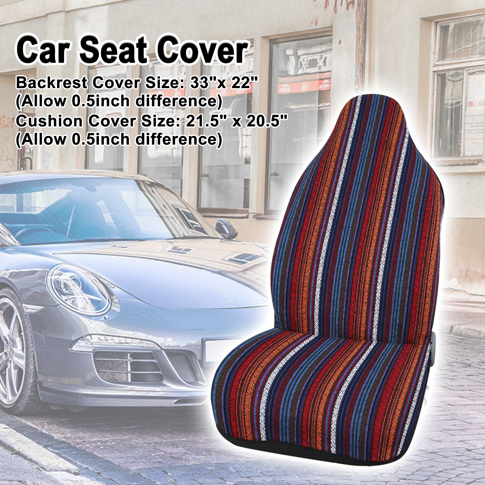 Universal Automotive Baja Blanket Bucket Seat Cover Pad